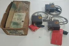 LOT OF 3 Nordson 101176G Hot Melt Glue Gun E700 220/240Vac Heater 200W +Warranty