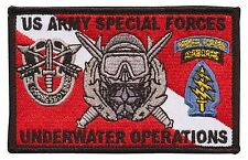 "US Special Forces - Diver Down - ODA - Underwater Operations School ""SFUWO"""