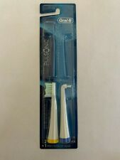 2 ORAL-B PULSONIC Replacement Toothbrush Brush Heads & Precision Tip BRAND NEW