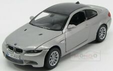 Bmw 3-Series M3 Coupe 2007 Silver MotorMax 1:24 MTM73347S