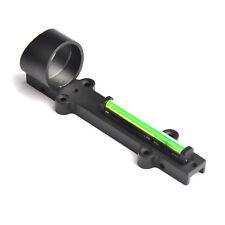 Green Dot Sight green Fiber Optic Reflex Scope Sight Fit Shotgun Rib Rail Hunt