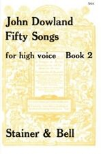 DOWLAND FIFTY SONGS BooK 2 HIGH VOICE