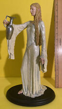 The Lord of the Rings Lady Galadriel Polystone Statue Sideshow Weta Damaged 1542
