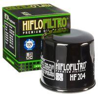 HiFlo HF204 Oil Filter Cartridge Black 65x64mm (better than original Honda part)