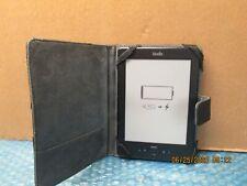 """Amazon 6"""" Kindle 4th Gen D01100 2GB WiFi E-reader - Black w/Kindle Case BUNDLE"""