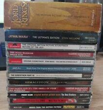 Soundtrack CD Sammlung Lot Herr der Ringe Star Wars