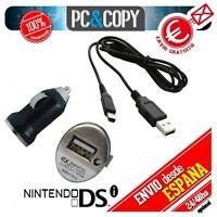 Pantalla LCD Superior/ Inferior/ Táctil/cable/ conector cargador Nintendo DSi XL