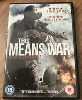 This Means War DVD (2015) Olivier Gruner Amazing Value At Low Prices