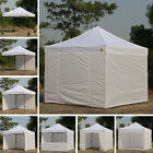 AbcCanopy 10x10 Commercial Ez Pop Up Tent Canopy Gazebo Market Trade Show Booth