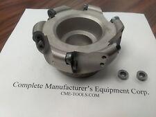 4 Face Mill R200 Milling Cutter 6 Sandvik Rckt1204 Round Inserts 506 R200 4