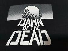 Vintage 1980's Dawn Of The Dead Horror Movie T-shirt George Romero zombie cult