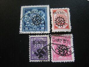 stamps Latvia
