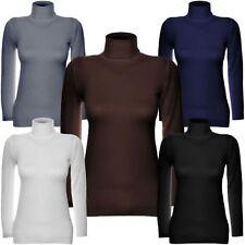 Markenlose Damen-Pullover & -Strickware mit Rollkragen Normalgröße