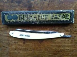 """Vintage German """"Bismarck""""Cut Throat Razor (Excellent)"""