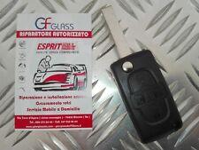 COVER CHIAVE TELECOMANDO GUSCIO CITROEN 4 TASTI C8 PEUGEOT 1007 807