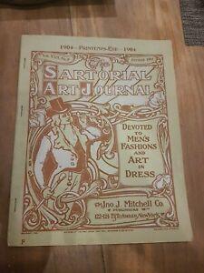 Mitchell Fashion Publicité 1904 sartorial  art journal catalogue  vêtements mode