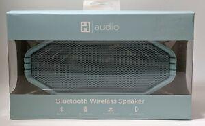 iHome IHv315 Bluetooth Wireless Speaker Splash& Sand Resistant Rechargeable Blue