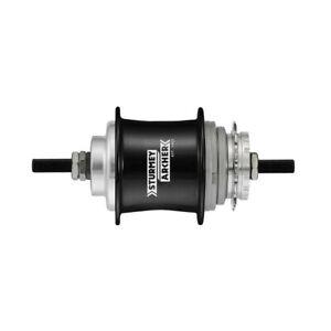 Sturmey Archer S3X 3- Speed, Black Fixed Gear Hub, 36H
