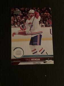 2017-18 Upper Deck Paul Byron