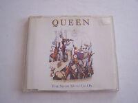 CD DE QUEEN , THE SHOW MUST GO ON , MAXI 4 TITRES
