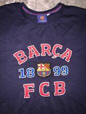 FBC BARCA 1899 Navy T-shirt Size Large