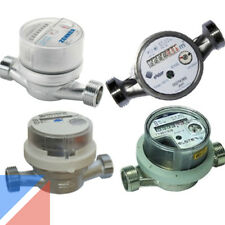 """Wasserzähler AP 110 130 & 80mm Aufputz R1/2"""" R3/4"""" G1"""" Zoll Qp 1,5 2,5 Wasseruhr"""