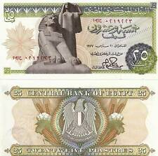 1977 Egypt 25 Piasters Uncirculated Egyptian Note