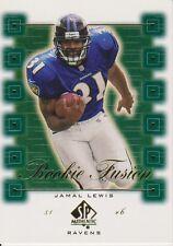 2000 SP Authentic Rookie Fusion #RF6 Jamal Lewis