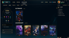 League of Legends EUW acc., LVL 38, 286 skins, 1.5k EUR spent, all champs 26k BE