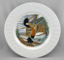 Adams China The Birds Of America Dinner Plate Canvas Back Duck England
