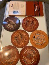 Yijan Australia Knowledge of Dreaming,  Set of 6 Cork Hardboard Placemats, Mint