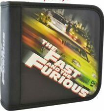 Original Fast and Furious 24 Capacity Heavy Duty Music CD DVD Wallet Black NEW