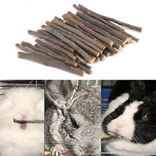 Small Pets apple Wood Chew Sticks Twigs for Rabbit Hamster Guinea Pig Toy