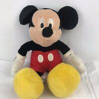"Authentic Genuine Original Disney Store Mickey Mouse 18"" Plush Stuffed Animal"