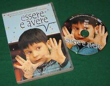 Essere e avere - Nicolas Philibert (DVD; 2003) *BUONO*.