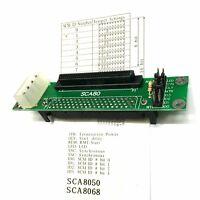 Adapterplatine SCA-Serverfestplatte 80-polig an SCSI-Controller 68-adrig Kabel
