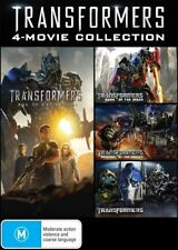 Transformers 1-4, 4 Movie Collection DVD Revenge the Fallen, Age of Extinction&