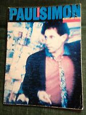 Paul Simon Hearts and Bones score partition chant piano accords