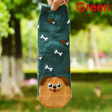 Frutas calcetines mujeres adorable animal gato huella perro calceSsb