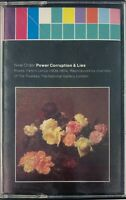 New Order Power, Corruption & Lies Cassette Tape 1986 VGC Sent Tracked