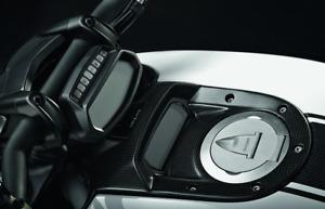 Ducati Diavel Carbon Lower Instrument Panel Cover Matte