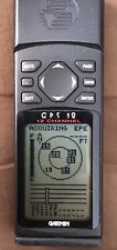 Garmin Gps 12 Handheld Personal Navigator Tested, Works! Manual Included