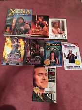 Lot Of 8 Xena Books Complete Illustrated Companion Lucy Lawless Renée O'connor