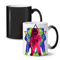 Psychedelic Astronaut NEW Colour Changing Tea Coffee Mug 11 oz   Wellcoda