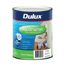 Dulux Aquanamel 1L White Semi Gloss Enamel Paint