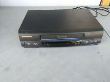 Panasonic - Vhs Vcr Player Ominivison Pvq- V200 No Remote