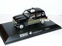 4L10F Voiture 1/43 Universal Hobbies Renault R 4 L  : parisienne 1964
