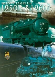 British Steam 50s And 60s (DVD, 2004) New & Sealed