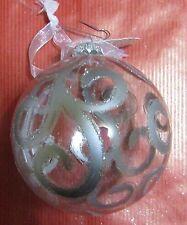 Décoration de sapin verre boule  (NO40)