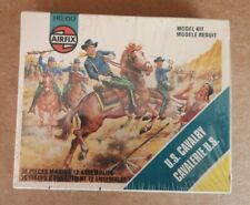 AIRFIX S22 - 7th US Cavalry - STRIP-BOX MADE USA SERIE ON SPRUES 1978 - FAR-WEST
